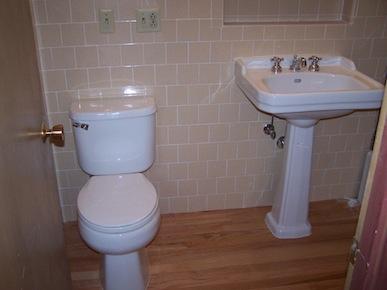 changement robinet lavabo