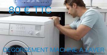 tarif degorgement machine a laver