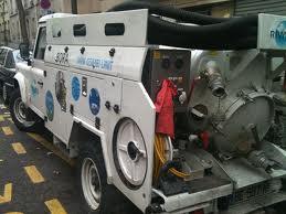 désengorgement avec un camion pompe tarif